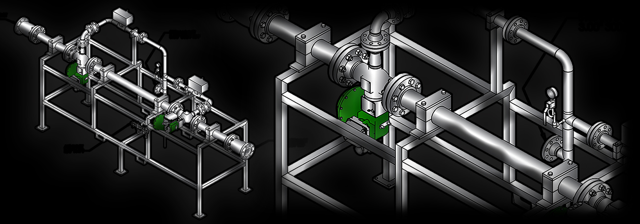 ATTEC custom skid systems - direct steam injection