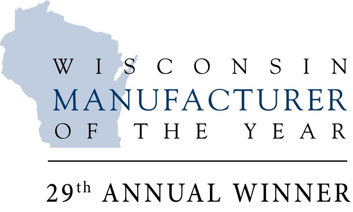 Wisconsin Manufacturer of the Year - 29th Annual Winner logo