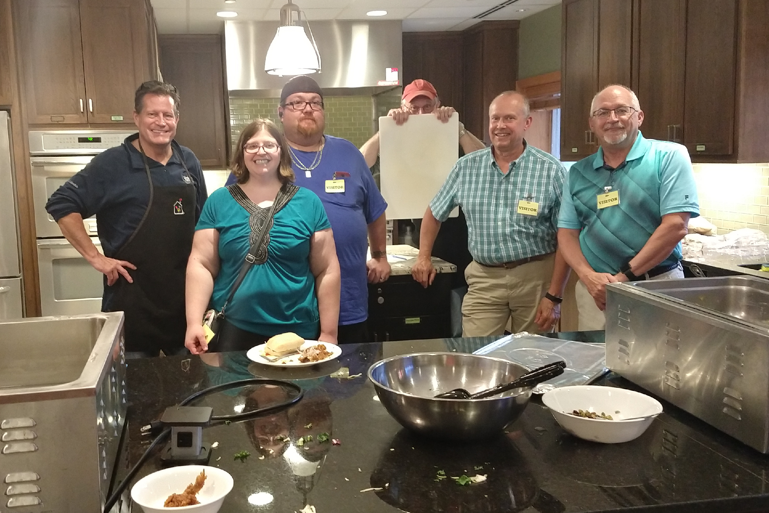 Hydro-Thermal Volunteers at the Ronald McDonald House
