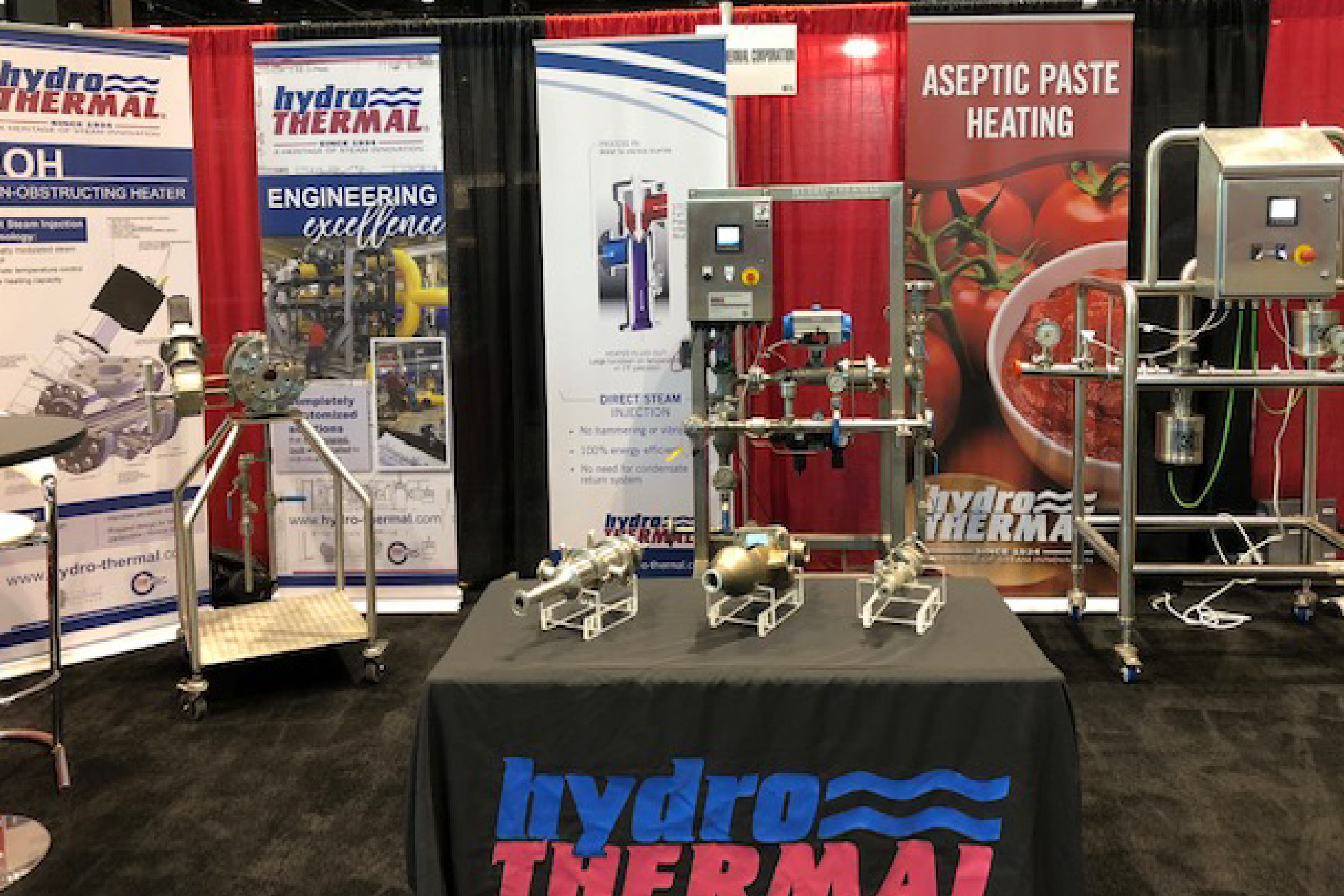Hydro-Thermal Showcases Industry-Leading Solutions at 2019 Process Expo