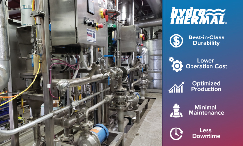 Minimize Total Cost of Ownership with Hydro-Thermal Direct Steam Injection Heaters.